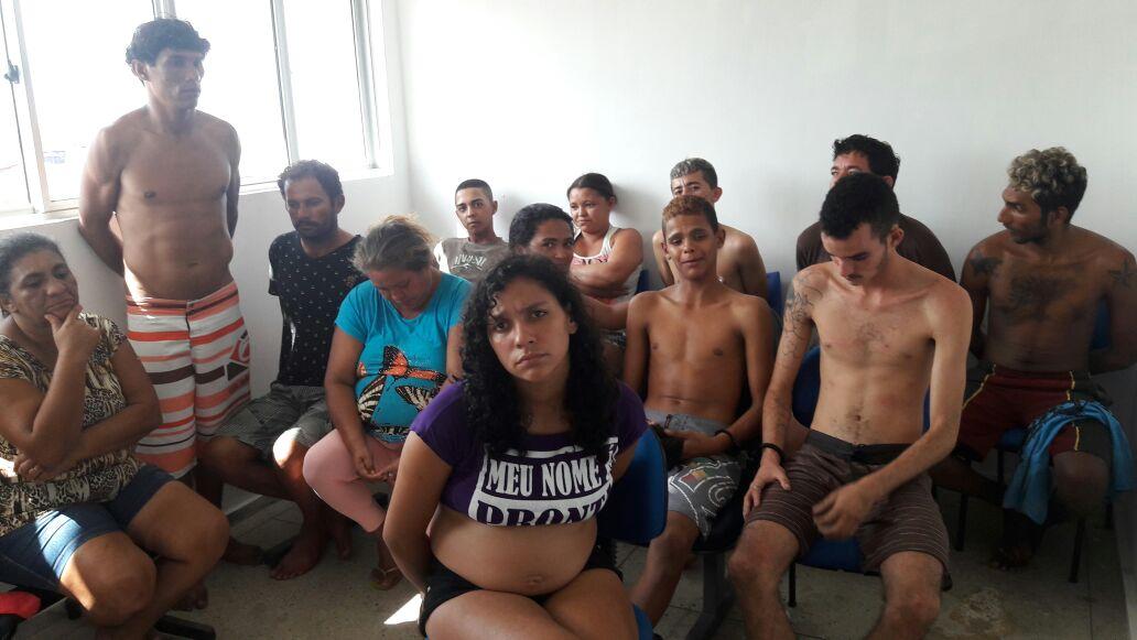 detidos na Operação